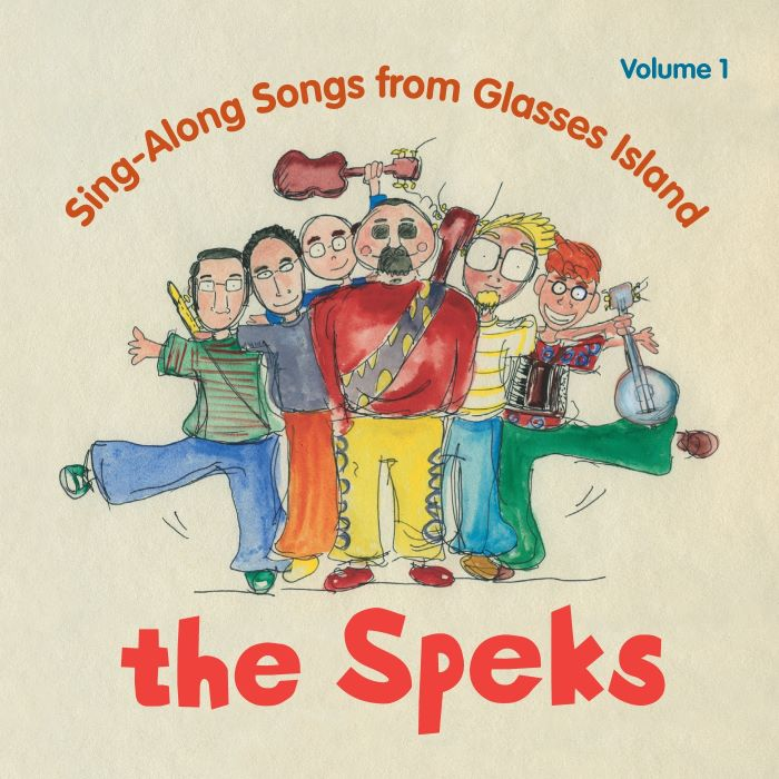 CD - Sing-Along Songs from Glasses Island - Volume 1 by The Speks