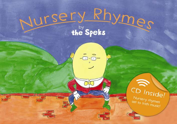 Book/CD Combo - Nursery Rhymes by The Speks